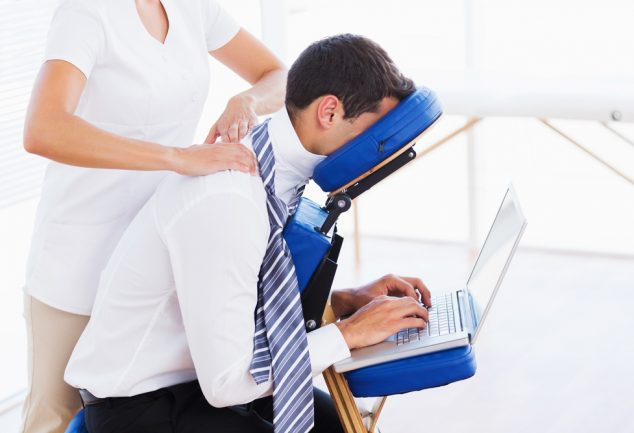 fauteuil massant travail