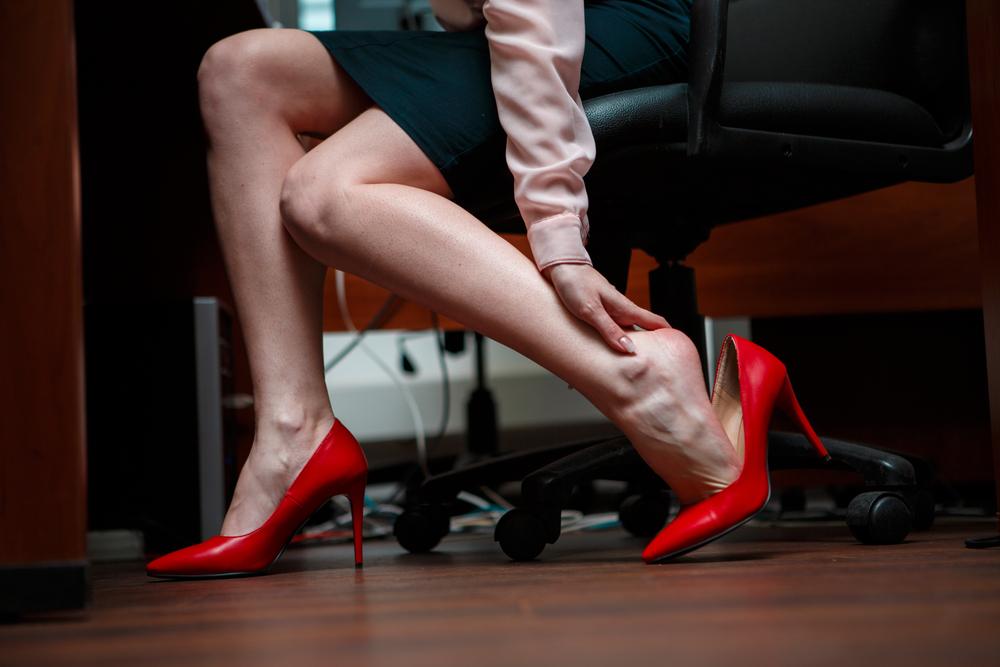 mal de pieds au travail